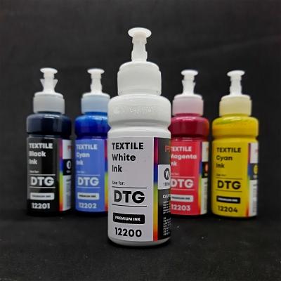 Tinta Textil Dtg White 100ml