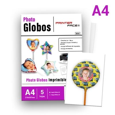 Globos Redondos A4/18cm