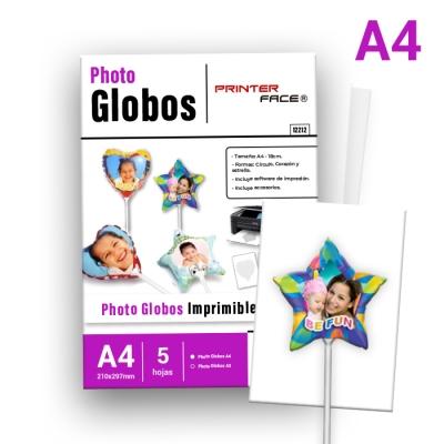 Globos Estrella A4/18cm