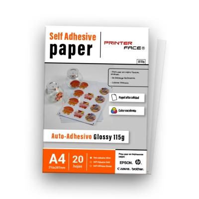 Adhesive Glossy 115g A4 X20h