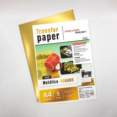Transfer Paper Metallic Gold A4 - X5