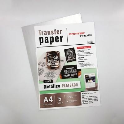 Transfer Paper Metallic Silver A4 - X5
